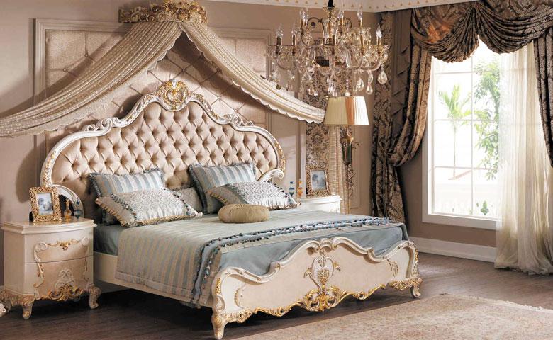 Klasik yatak odası karyola