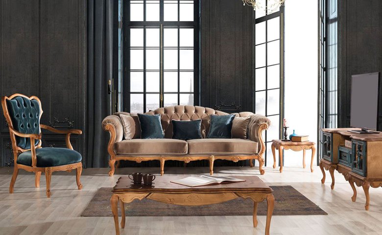Grand Chester Sofa Set Luxury Clic
