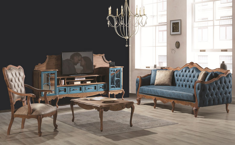 Grand Country Sofa Set Avangarde