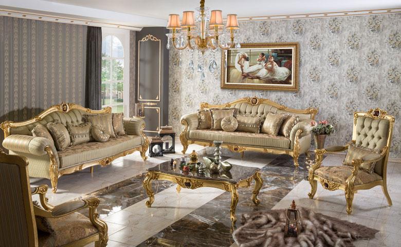 At Clic Sofa Set Luxury