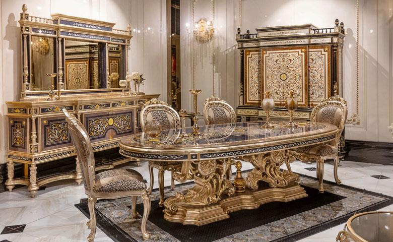 Kapadokya Dining Room Set Luxury Dining Room Furniture