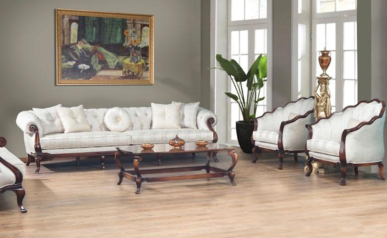 Mimoza Chester Sofa Set Luxury