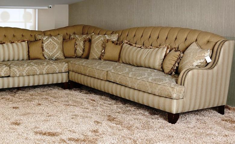 Miranda Corner Sofa Set Klasik Koltuk Modeli