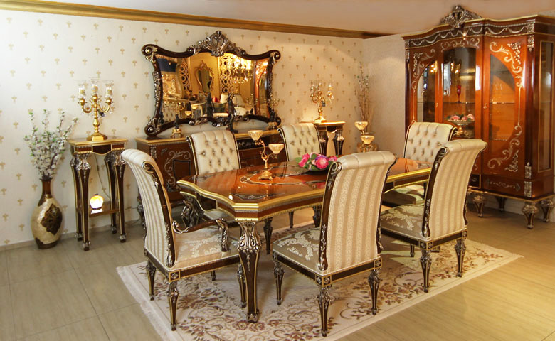 Classic Dining Room Sets - Luxury Dining Room Models - Asortie